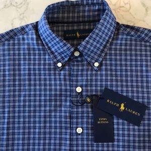 Men's Ralph Lauren button down shirt, S, New $148